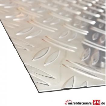 Gut bekannt Metalldiscounter24.de - Aluminium Riffelblech Duett 1,5/2,0mm stark LB34