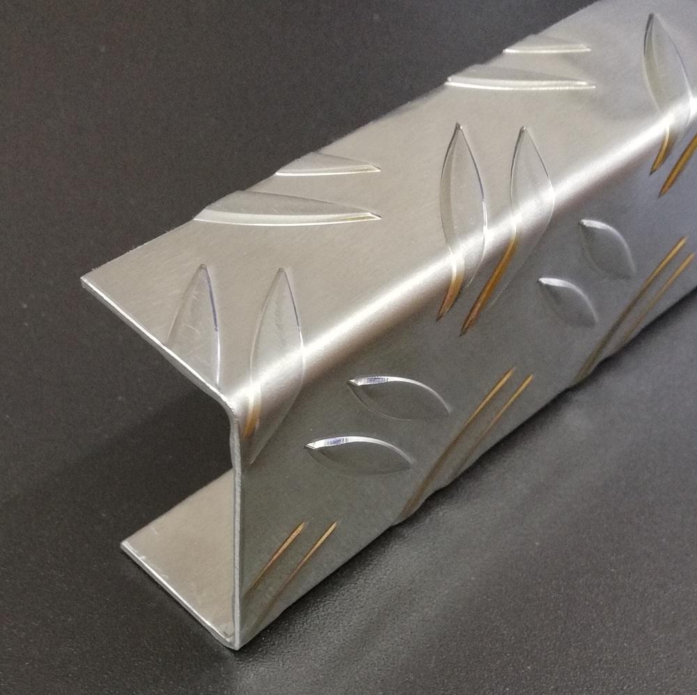 Aluminium Riffelblech Duett Sonderanfertigung DECKEL SIEHE BESCHREIBUNG